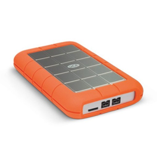 LaCie 2 To Rugged Triple Firewire 800 & USB 3.0 - Disque Dur Externe