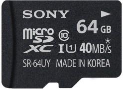 CARTE MICRO SD SONY SR-64UYA 64 GO