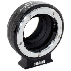 BAGUE D'ADAPTATION METABONES NIKON G VERS SONY E SPEED BOOSTER