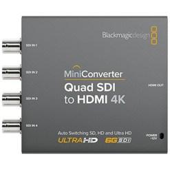MINI CONVERTISSEUR BLACKMAGIC QUAD SDI VERS HDMI 4K