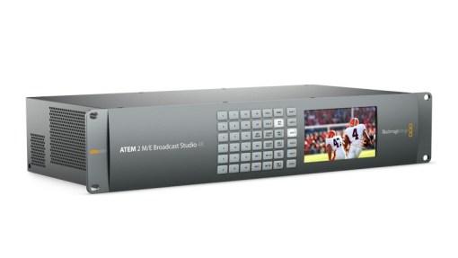 MELANGEUR BLACKMAGIC ATEM 2 M/E BROADCAST STUDIO 4K