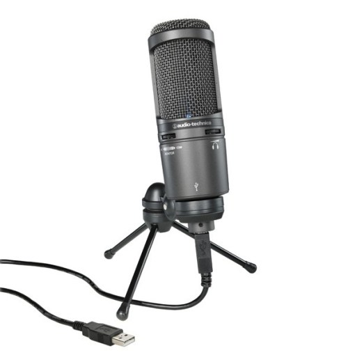 MICROPHONE STATIQUE AUDIOTECHNICA AT2020USB+