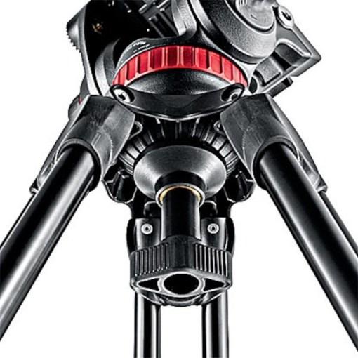 Manfrotto MVH500A + MVT502AM - Kit Trépied et Rotule Vidéo
