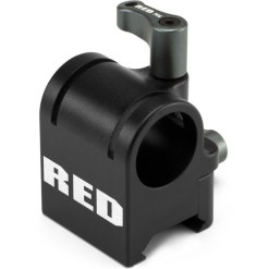 RED SWAT RAIL CLAMP (19MM ROD)