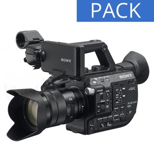 Pack Caméscope SONY PXW-FS5K Mark II