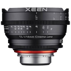 XEEN 14mm T3.1 Métrique Monture E - Objectif Prime