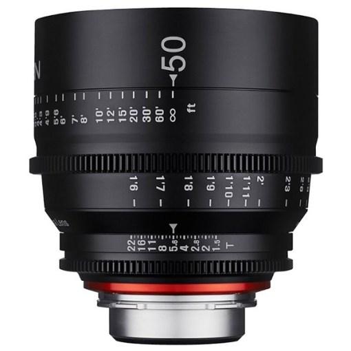XEEN 50mm T1.5 Métrique Monture EF - Objectif Prime Cinéma