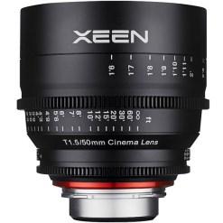 XEEN 50mm T1.5 Métrique Monture E - Objectif Prime