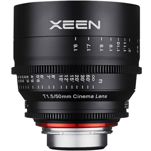 XEEN 50mm T1.5 Impérial Monture E - Objectif Prime