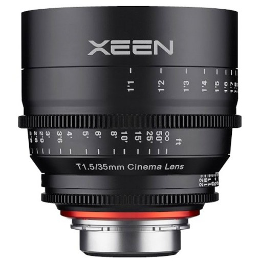 OBJECTIF PRIME XEEN 35MM MONTURE EF T1.5 IMPERIAL