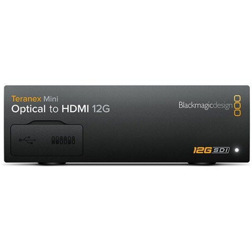 Blackmagic Design Teranex Mini Optical to HDMI 12G Converter - Convertisseur