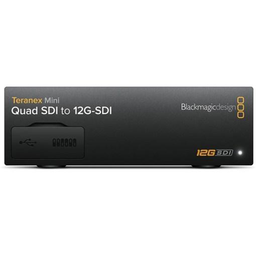Blackmagic Design Teranex Mini Quad SDI to SDI 12G Converter - Convertisseur