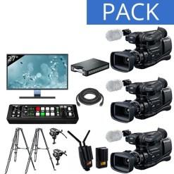 Pack STUDIO 3 Caméras