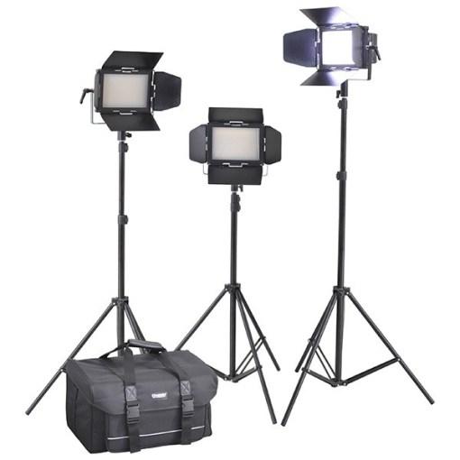 KIT PANNEAUX LED CINEROID LM400-3SETV