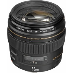 Canon EF 85mm F1.8 USM - Objectif