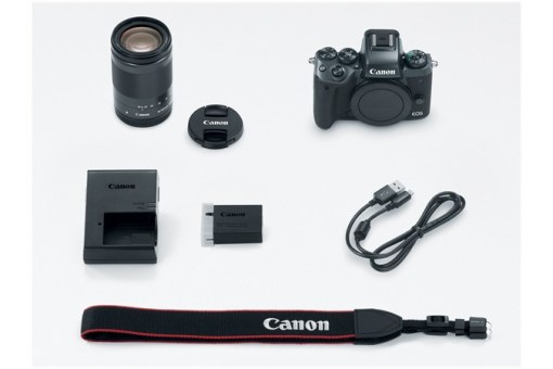 Canon EOS M5 + 18-150mm - Kit Appareil Photo et Objectif