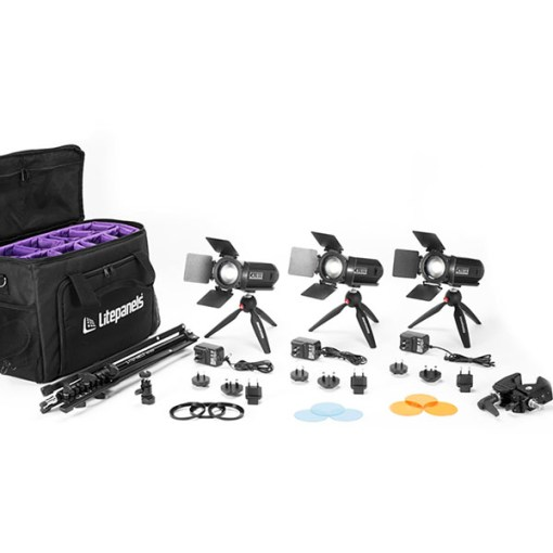 Litepanels Caliber 3-Light - kit lumière