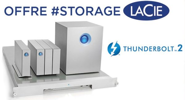 Offre Lacie Thunderbolt – TERMINEE