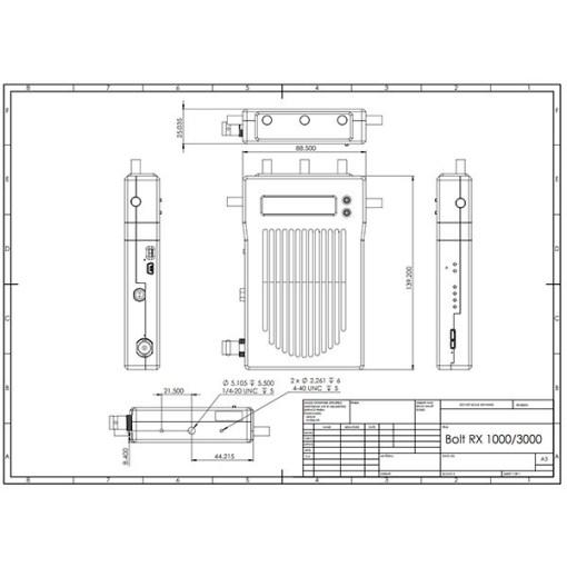 KIT HF TERADEK BOLT 3000 3G-SDI/HDMI