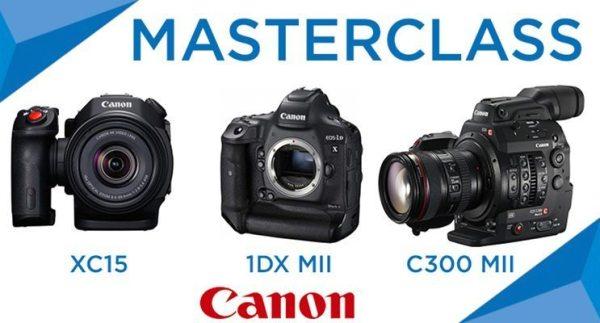 Masterclass Canon 4K 7 décembre 2016