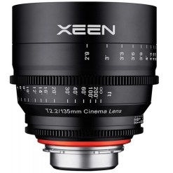 OBJECTIF PRIME XEEN 135MM MONTURE E T2.2 24x36MM IMPERIAL