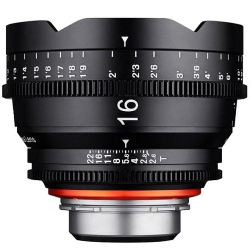 XEEN 16mm T2.6 (Canon EF, métrique) - Objectif Prime Cinéma