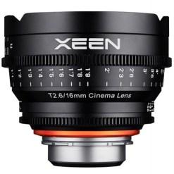 XEEN 16mm T2.6 Métrique Monture PL - Objectif Prime
