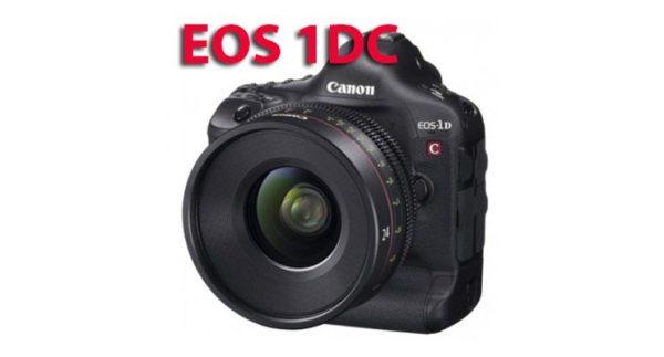 La qualité d''image du Canon EOS-1D C reconnue par l'EBU