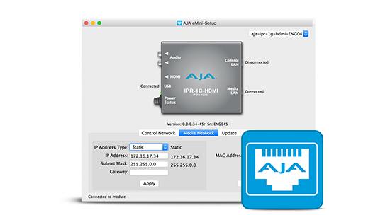 CONVERTISSEUR AJA IPR-1G-HDMI