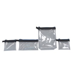 KIT DE 4 SACHETS TRANSPARENTS ORCA BAGS OR-18