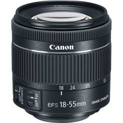 Canon EF-S 18-55mm F4-5.6 IS STM - Objectif