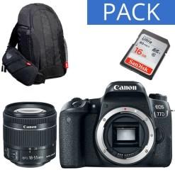Canon EOS 77D + 18-55mm - Kit Appareil Photo et Objectif