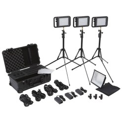 KIT PROJECTEURS LITEPANELS LYKOS BI-COLOR FLIGHT KIT
