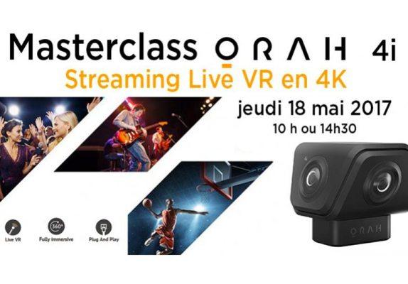 Masterclass VR 360° 4K ORAH