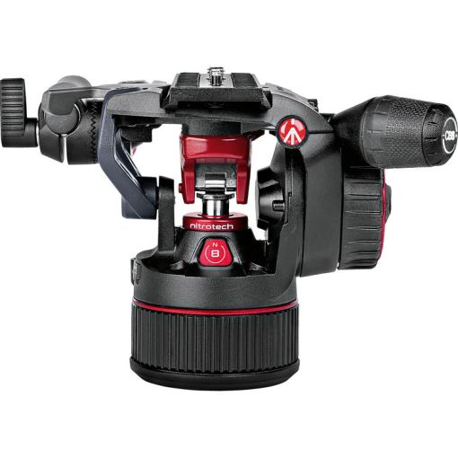 KIT ROTULE VIDEO MANFROTTO NITROTECH N8 ET TREPIED 535