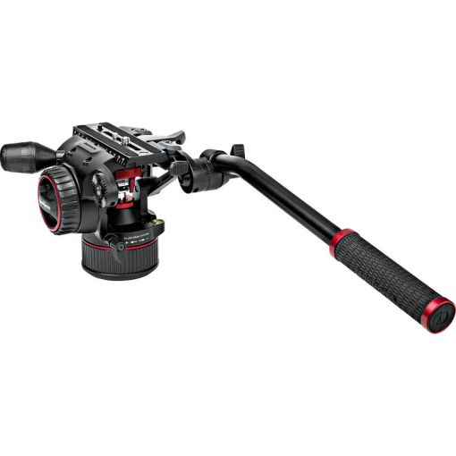 KIT ROTULE MANFROTTO NITROTECH N8 ET TREPIED 546B TWIN MS