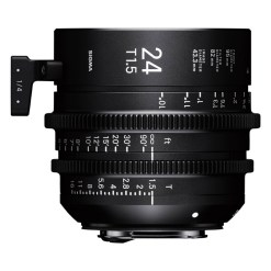 Sigma 24mm T1.5 FF (Canon EF) - Objectif Prime Cinéma