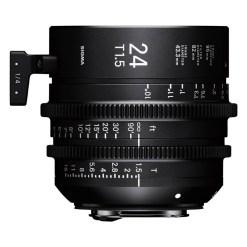 Sigma 24mm T1.5 FF (PL) - Objectif Prime Cinéma