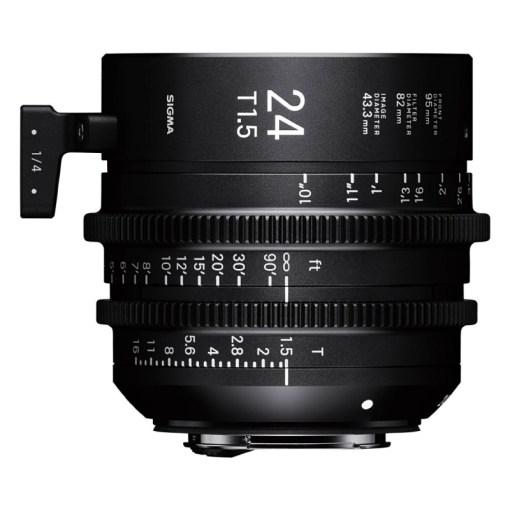 Sigma 24mm T1.5 FF Monture PL - Objectif Prime