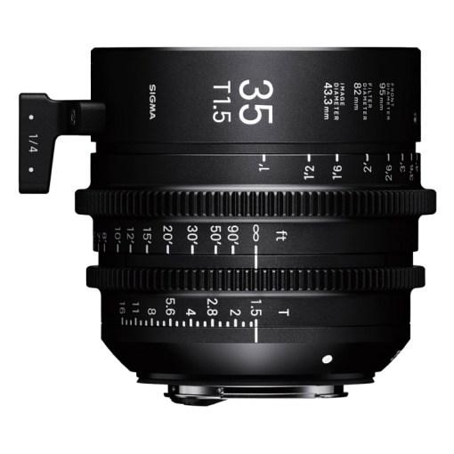 OBJECTIF SIGMA 35MM T1.5 FF F/AP (82mm) PL