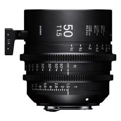 Sigma 50mm T1.5 FF (Sony E) - Objectif Prime Cinéma