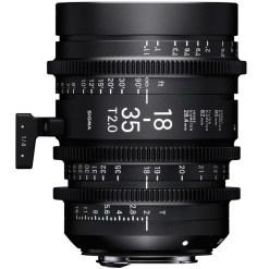 Sigma 18-35mm T2 Monture EF - Objectif Zoom