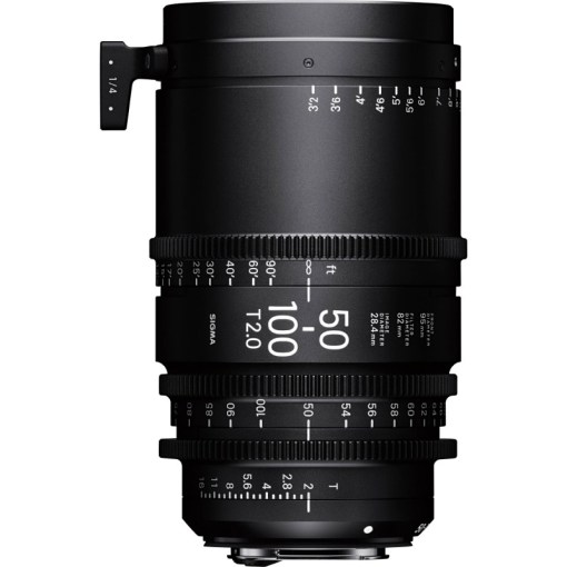 Sigma 50-100mm T2 (Canon EF) - Objectif Zoom Cinéma