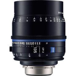 OPTIQUE ZEISS CP3 135mm T2.1 MONT EF METRIQUE
