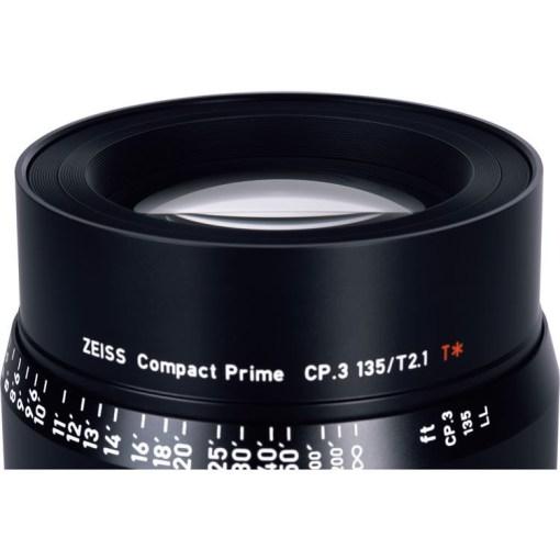ZEISS CP.3 135mm T2.1 Monture E Impérial - Objectif Prime