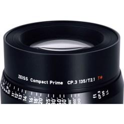 OPTIQUE ZEISS CP3 135mm T2.1 MONT E METRIQUE