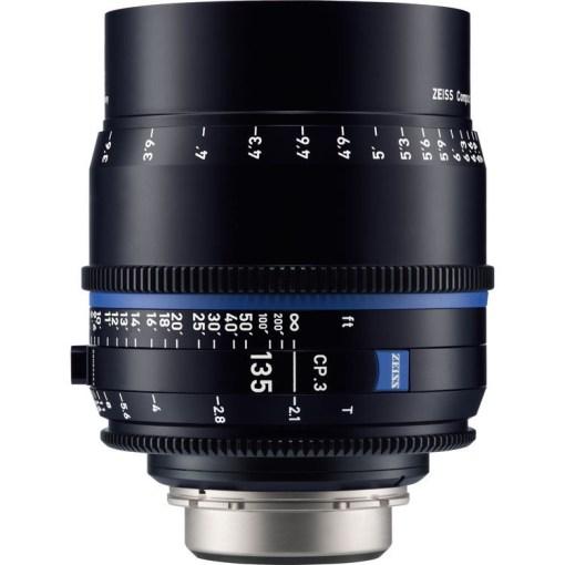 ZEISS CP.3 135mm T2.1 Monture F Métrique - Objectif Prime Cinéma