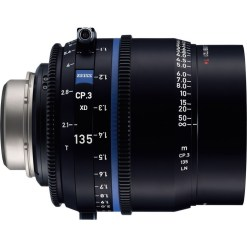OPTIQUE ZEISS CP3 135MM T2.1 MONTURE PL IMPERIAL XD eXtended D