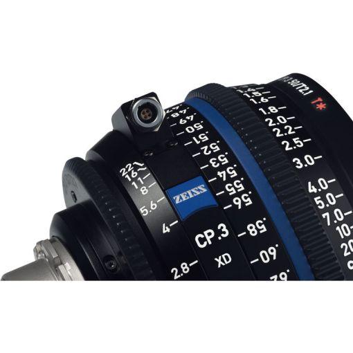 OPTIQUE ZEISS CP3 35mm T2.1 MONT PL METRIQUE XD eXtended Da