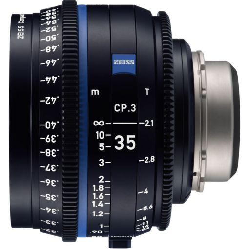 ZEISS CP.3 35mm T2.1 (Sony E, métrique) - Objectif Prime Cinéma